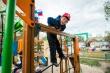 Год добра: в Центральном округе появилась новая детская площадка