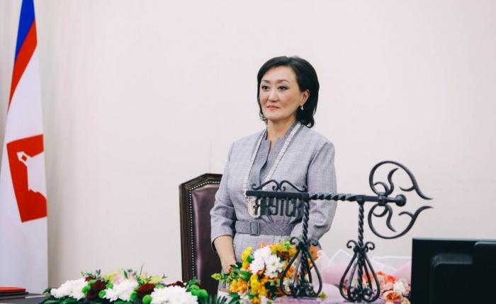 Поздравление главы Якутска Сарданы Авксентьевой с Днем города