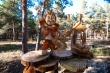В Якутске прошел фестиваль художественной резьбы по дереву «Лесная сказка»