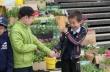 Год труда: Учащиеся школы № 2 передали цветочную рассаду Центральному округу