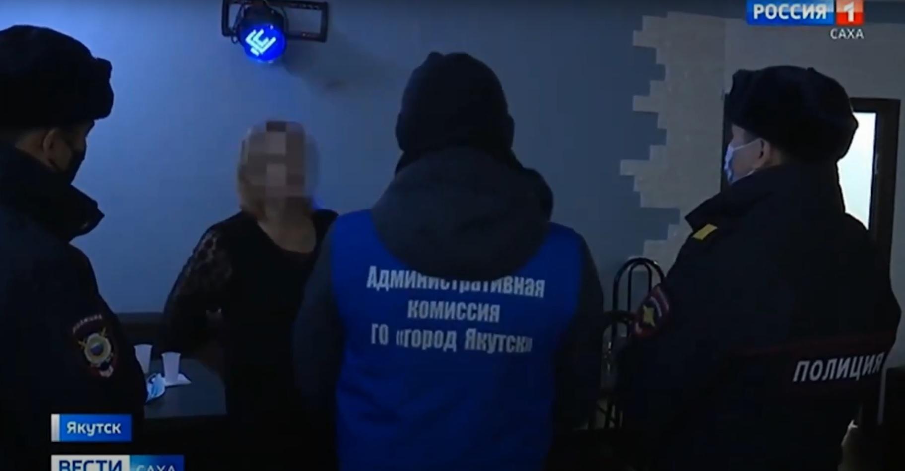 В ходе рейдов по развлекательным заведениям Якутска выявляются нарушения