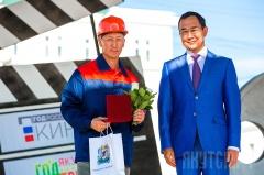 Год труда: в Якутске наградили лучших строителей