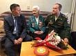 Управление социальной защиты населения и труда поздравило участницу обороны Москвы