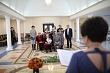 Год поколений: глава Якутска поздравила семью Кривошапкиных с золотой свадьбой