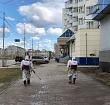 МУП «Жилкомсервис» продолжает дезинфекцию общественных пространств