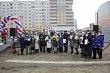 В Якутске открыли пешеходный переход между 202 и 203 микрорайонами