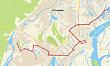 О временном изменении схемы движения автобусного маршрута №15