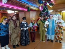 В Сайсарском округе ветераны отпраздновали Новый год