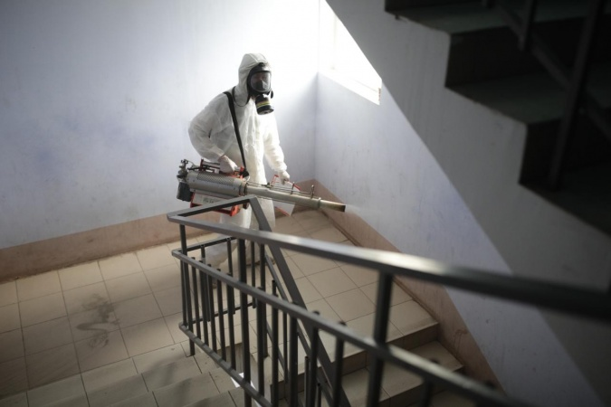 Информация о проведении заключительной дезинфекции в многоквартирных домах 4 ноября