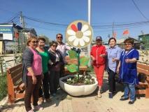 В честь Дня России в Мархе посадили цветы