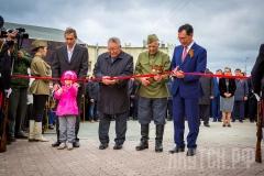 В городе Якутске торжественно открыт мемориальный комплекс «Солдат Туймаады»