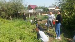 Год добра: добровольцы продолжают проводить субботники