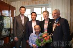 Александру Семеновичу Силину исполнилось 103 года