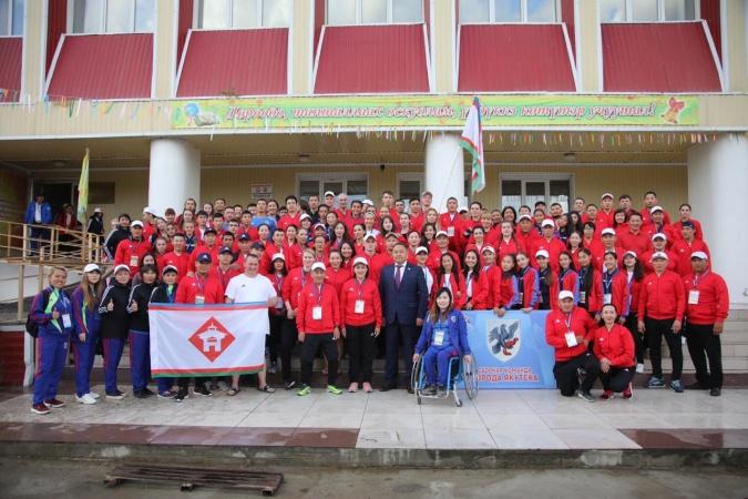 Сборная Якутска - чемпион VII Игр народов Республики Саха (Якутия)