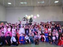 В Сайсарском округе для детей организовали новогоднюю елку