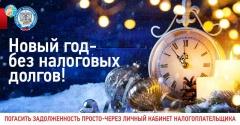 В Новый год - без налоговых долгов!