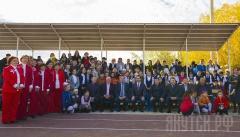 Народный бюджет: в Мархинской СОШ №1 открылся мини-стадион