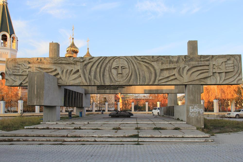 Мемориальный комплекс на площади Павших героев