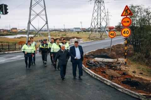 Капитальный ремонт улично-дорожной сети в Якутске идет по графику