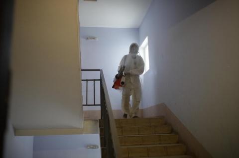 Информация о проведении заключительной дезинфекции в многоквартирных домах 25 ноября