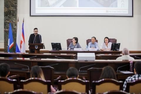 Сардана Авксентьева встретилась с финалистами конкурса «Старый город-2»