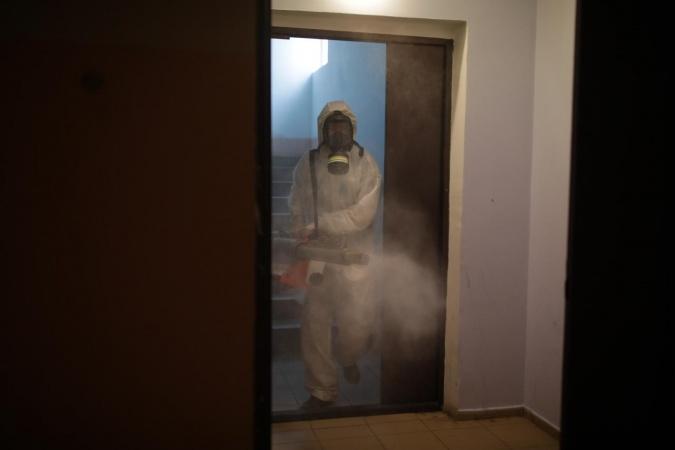 Информация о проведении заключительной дезинфекции в многоквартирных домах 15 ноября