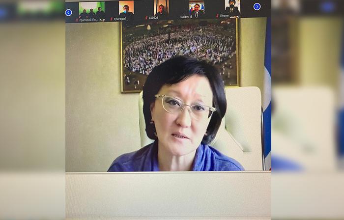 Сардана Авксентьева поздравила инспекторов по делам несовершеннолетних с профессиональным праздником