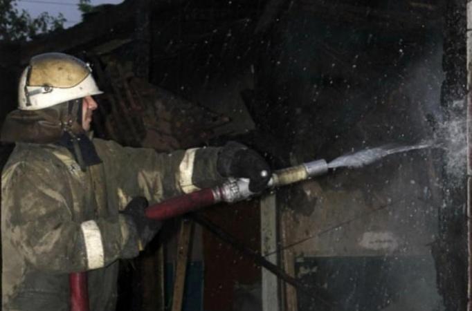 В Якутске ликвидирован пожар по ул. Суворова