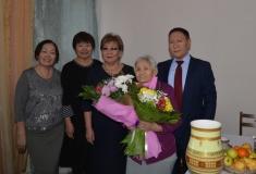Ветерану тыла Дарии Алексеевой исполнилось 95 лет