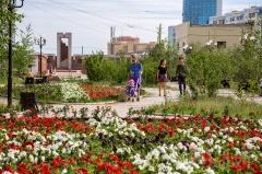 Цветы добра: в Якутске посажено свыше 1 миллиона цветов