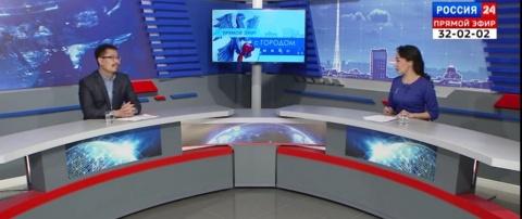 Руководитель МКУ «Службы эксплуатации городского хозяйства» Айаал Егинов в прямом эфире ответил на вопросы горожан
