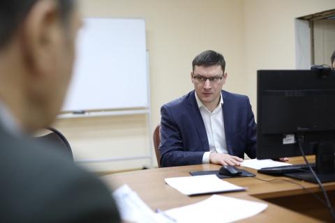 Роман Сорокин провел прием граждан