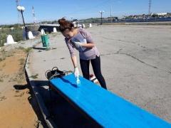Год добра: активная молодежь провела работы по благоустройству города