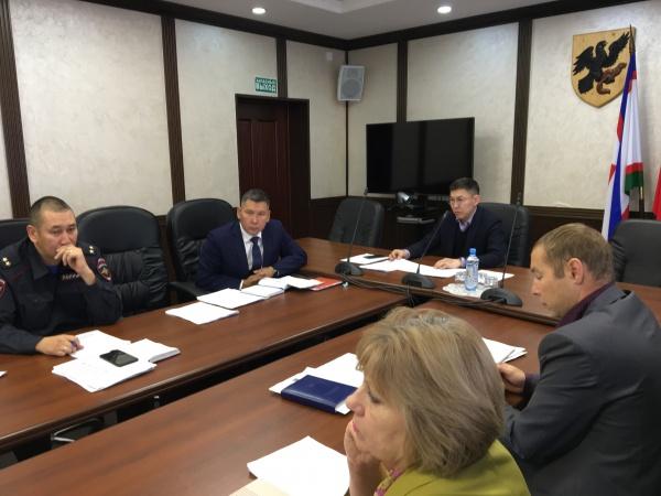 Состоялось заседание межведственной комиссии по профилактике правонарушений