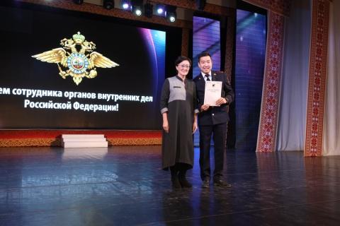 В Якутске поздравили сотрудников полиции