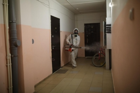 Информация о проведении заключительной дезинфекции в многоквартирных домах 1 декабря