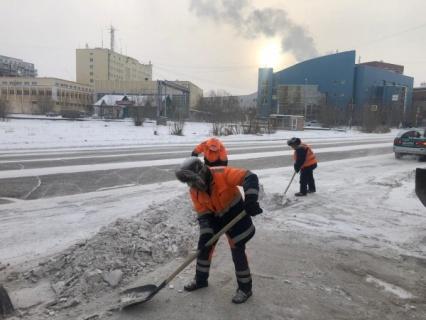 "План работ АО ""Якутдорстрой"" на 27 января (дневная смена)"