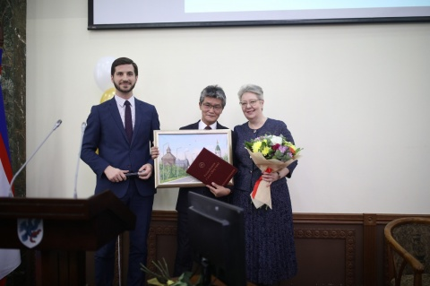 Первый заместитель председателя Якутской городской Думы Евдокия Евсикова отметила юбилей