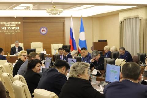 В Якутске прошло заседание рабочей межфракционной группы Госсобрания (Ил Тумэн) по здравоохранению