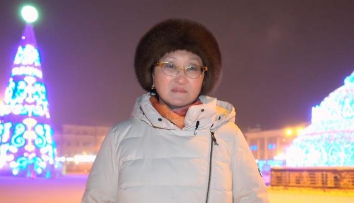 Поздравление главы Якутска Сарданы Авксентьевой с наступающим Новым годом!