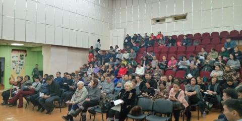Жители Тулагино-Кильдямского наслега приняли отчет окружной администрации