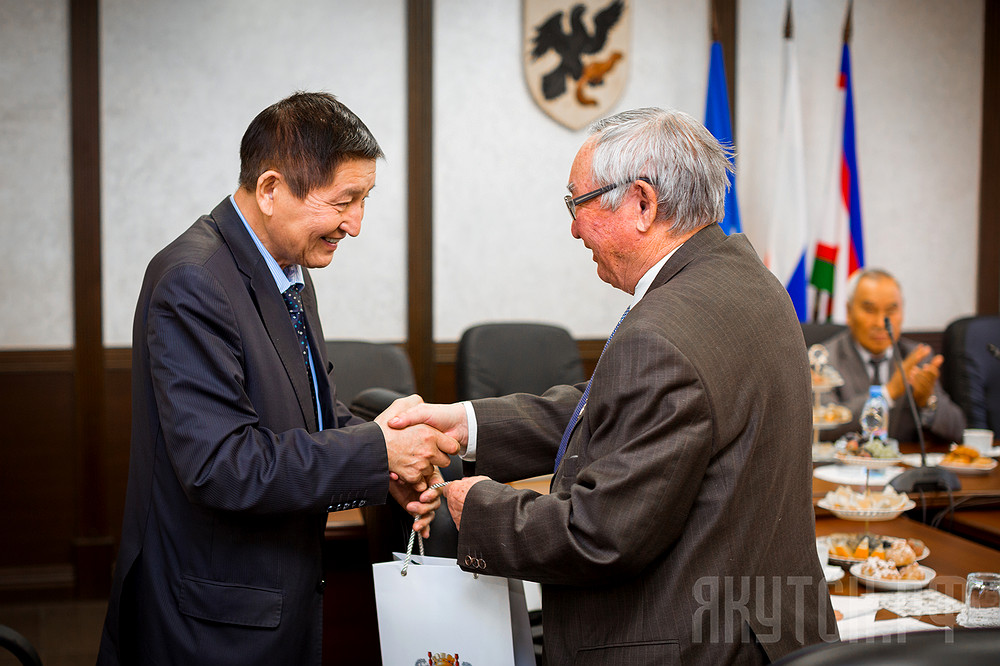 В Якутске чествовали Высший совет старейшин