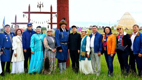 Тусулгэ Якутской городской Думы встретила гостей ысыаха
