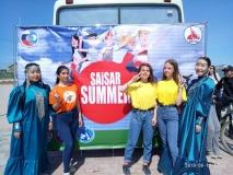 В Сайсарском округе отпраздновали День России