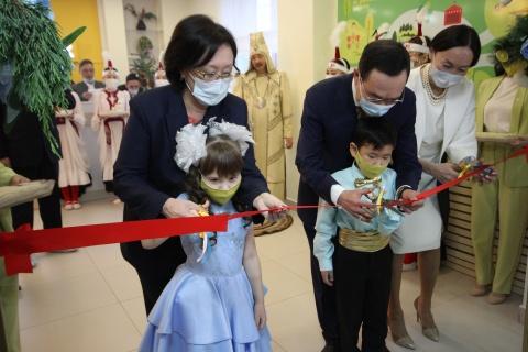 В Якутске открылся новый детский сад «Прометейчик»