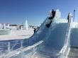 Воспитанники коррекционных школ посетили ледовый городок «Северное сияние»