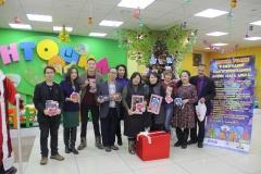 Коллектив педагогов СОШ №21 принял участие в акции «Елка Добра»