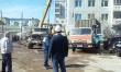 В Якутске началась активная работа по вывозу несанкционированных гаражей и торговых объектов