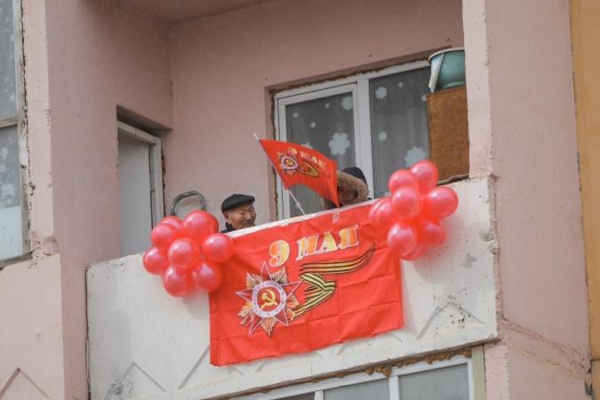 В Якутске в День Победы прошли праздничные акции для ветеранов