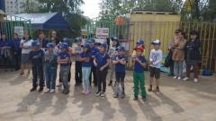 В Центральном округе прошла социально-экологическая акция «Чистый город – детям!»